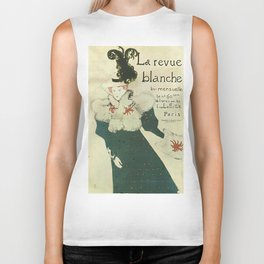Vintage poster - La Revue Blanche Biker Tank