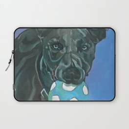 Fly the Whippet Dog Portrait Laptop Sleeve