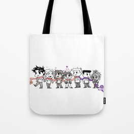 One Scarf Tote Bag
