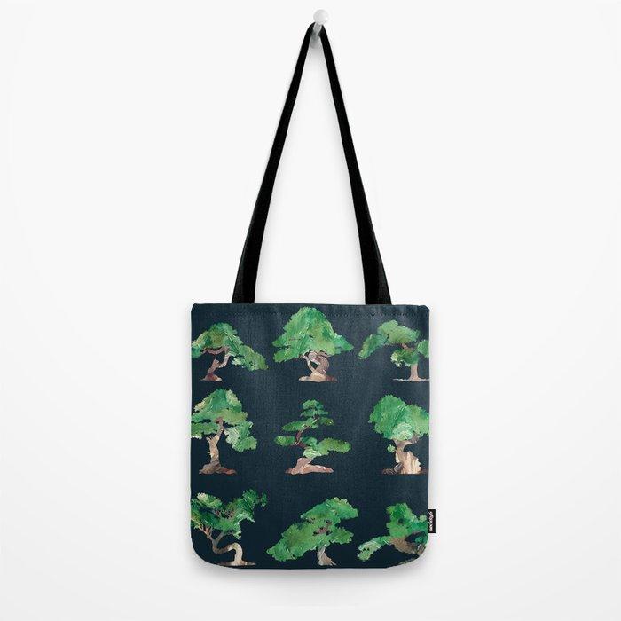 Bonsai Pattern Tote Bag