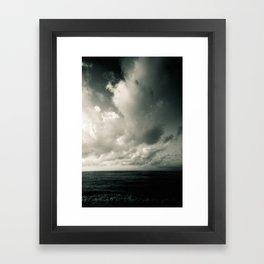 summer ver.greenblack Framed Art Print