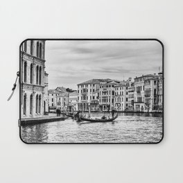 Gondola and tourists in Venice Laptop Sleeve