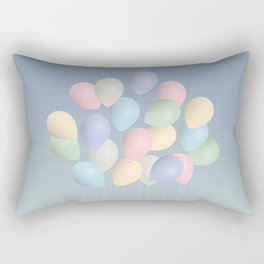Balloons bouquet Rectangular Pillow