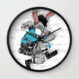 Skankin' Bunny Wall Clock