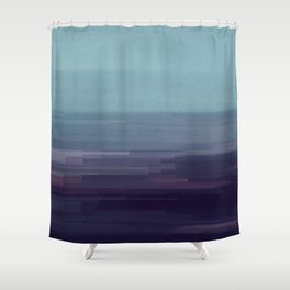 Glitched v.9 Shower Curtain