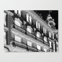 madrid Canvas Prints featuring Madrid by Kellabell9