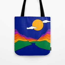 Rainbow Ravine Tote Bag