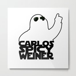 echo 3 to carlos spicy weiner Metal Print