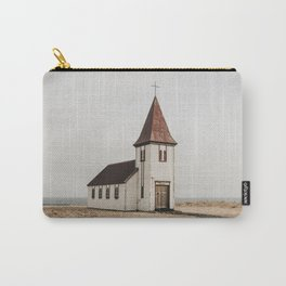 Hellnar Church, Iceland Carry-All Pouch