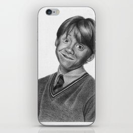 Ron Weasley Graphite iPhone Skin