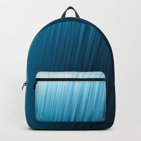 Blue Texture Backpack
