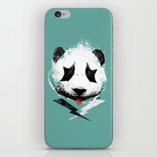 panda rock! iPhone & iPod Skin
