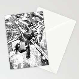 Oskar the Mountain salamander Stationery Cards