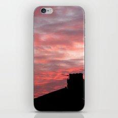 Winter sunset over London iPhone & iPod Skin