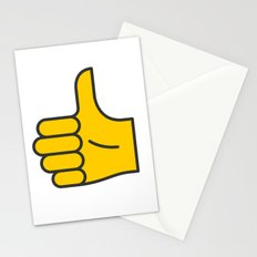 Hand Gesture - Thumbs Up Stationery Cards