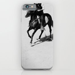 Lonely Cowboy iPhone Case