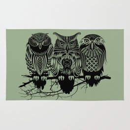 Owls of the Nile Rug