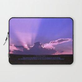 Serenity Prayer - III Laptop Sleeve