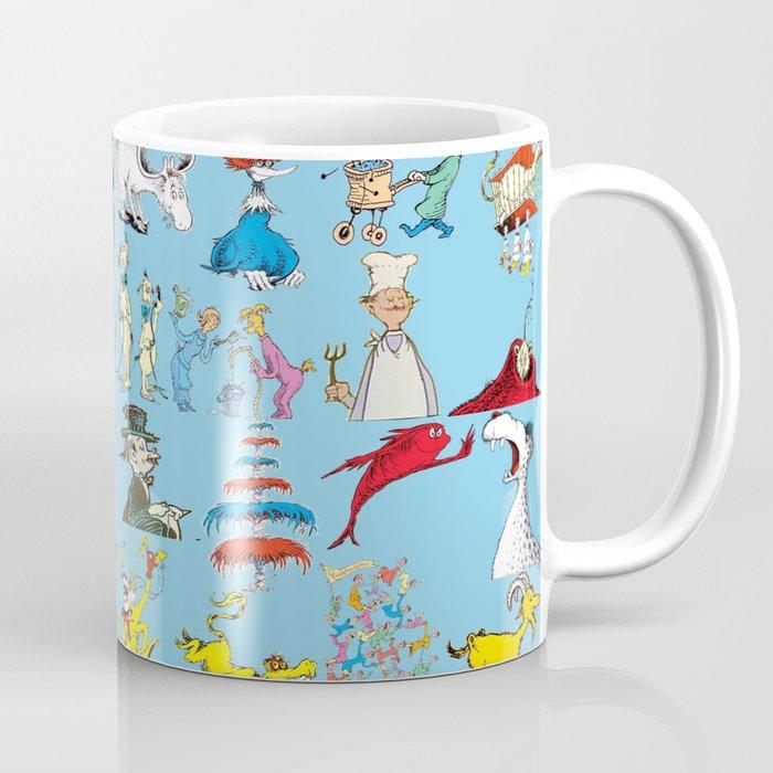 Dr. Seuss Characters Coffee Mug