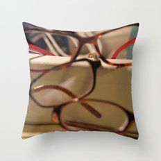 Spectacle  Throw Pillow