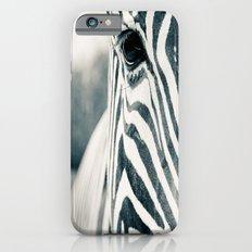 Zebra Face Black & White iPhone 6s Slim Case