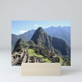 machu picchu_two Mini Art Print