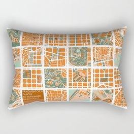 Fagmentos III Barcelona Rectangular Pillow