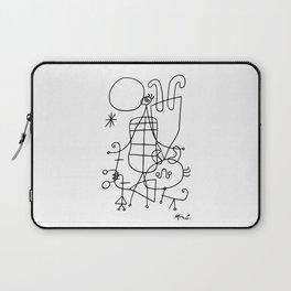 Joan Miro, Figures And Dog In Front Of The Sun, 1949 Sketch Artwork, Men, Women, Kids, Prints, Poste Laptop Sleeve