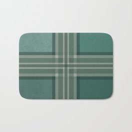 Shades of green Bath Mat