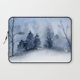 Winter Blues Laptop Sleeve