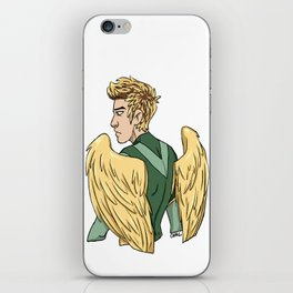 wings omg iPhone Skin