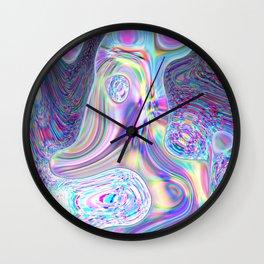 Chr0ma Lava Wall Clock