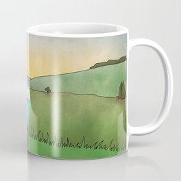 Blue Caravan Coffee Mug