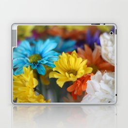 colorful flowers Laptop & iPad Skin