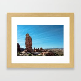 Arches Handstand Framed Art Print
