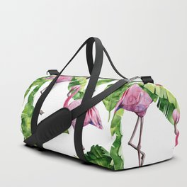 Flaming Duffle Bag