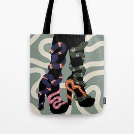 Snake Charmer II Tote Bag