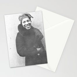 Zora Neale Hurston - BLM - African American Anthropologist Filmmaker Author - Steve On The Beach 78 Stationery Cards