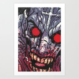 Vampyre Art Print