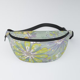 Spring meadow pattern Fanny Pack