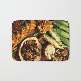 Mexican Food Bath Mat