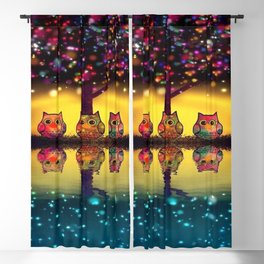 owl 43 Blackout Curtain