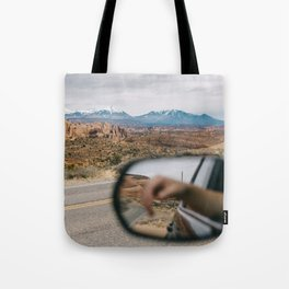Reflection in Moab Tote Bag