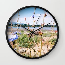 Chicory Beach Wall Clock