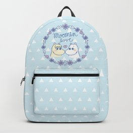 Moomin Love Sky Blue Backpack