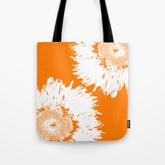 Real Galaxy Flowers Tote Bag