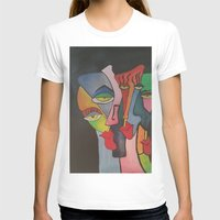 faces T-shirts featuring faces by loomy