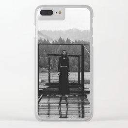 Dark Intensity Clear iPhone Case