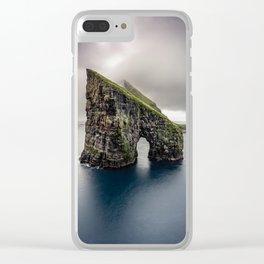Drangarnir Clear iPhone Case
