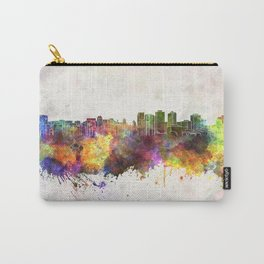 Halifax skyline in watercolor background Carry-All Pouch
